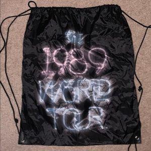 Taylor Swift 1989 World Tour Drawstring bag